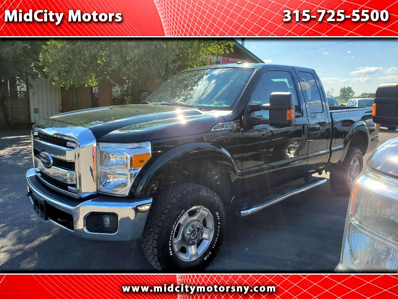Ford F-250 SD XLT SuperCab 4WD 2016