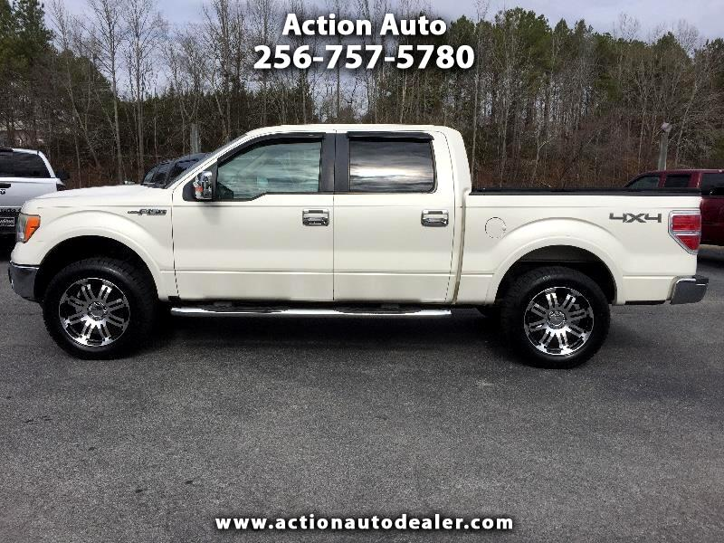 "Ford F-150 4WD SuperCrew 139"" Lariat 2009"