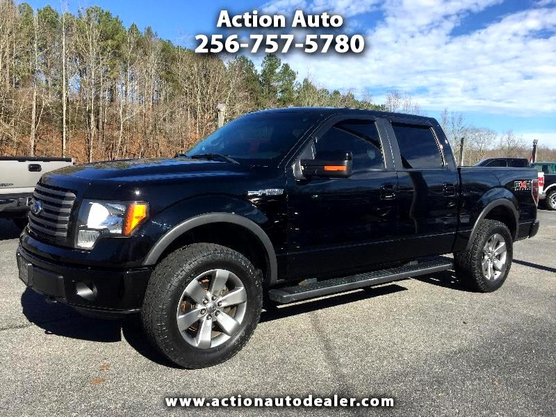 "2011 Ford F-150 4WD SuperCrew 139"" FX4"