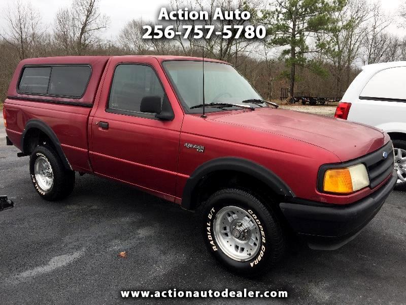 1993 Ford Ranger XL Reg. Cab Short Bed 4WD