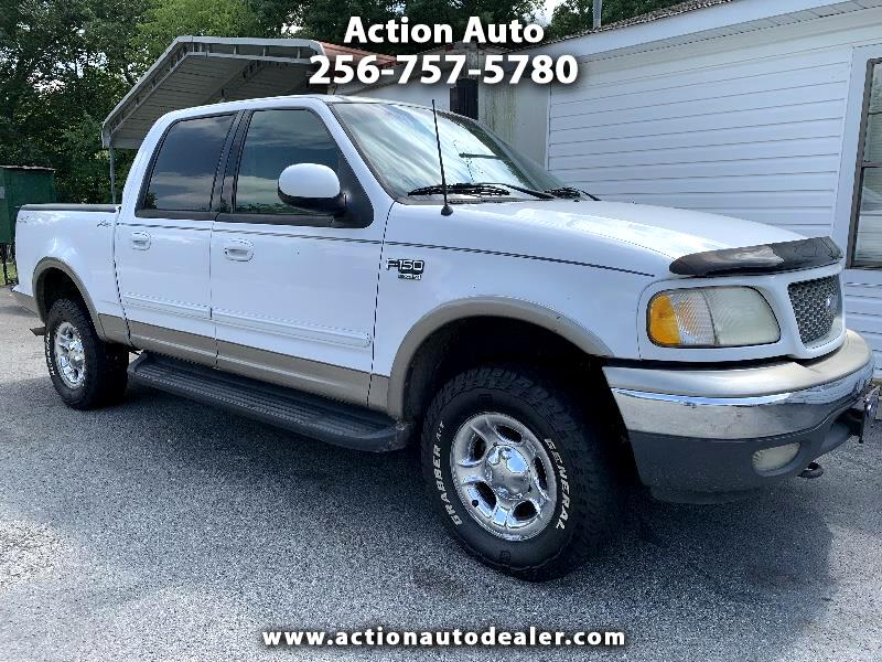 "Ford F-150 4WD SuperCrew 139"" Lariat 2001"