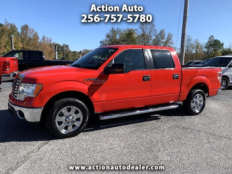 "Ford F-150 2WD SuperCrew 139"" XLT 2011"
