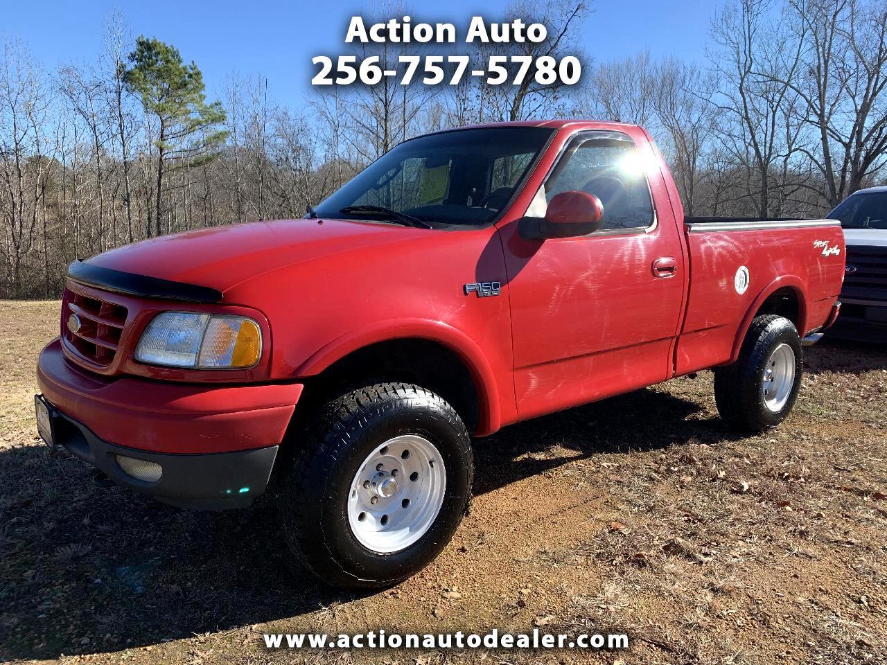 """Ford F-150 4WD Reg Cab 126"""" XL 2002"""