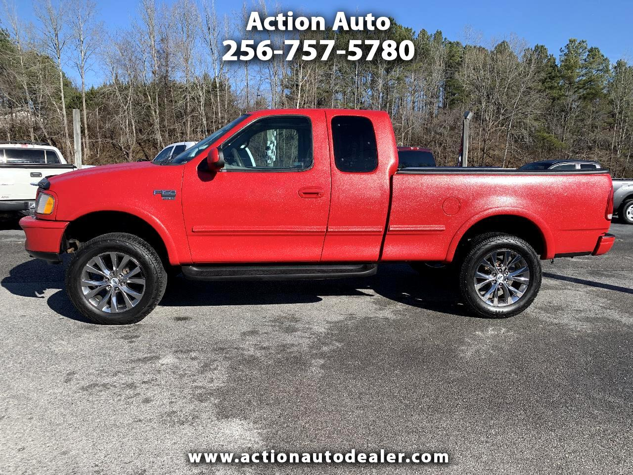 """Ford F-150 4WD SuperCab 145"""" Lariat 1998"""
