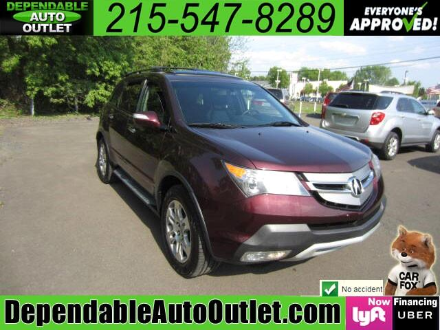 2009 Acura MDX SH-AWD w/NAV Rear Camera 3rd Row