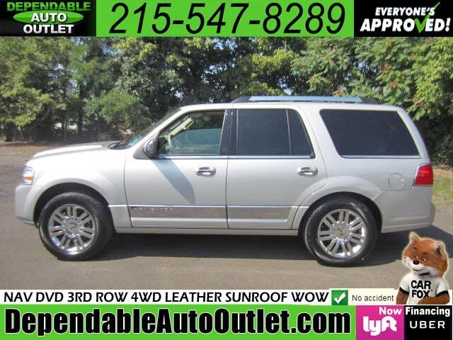 2007 Lincoln Navigator 4WD Luxury w/NAV DVD 3rd Row