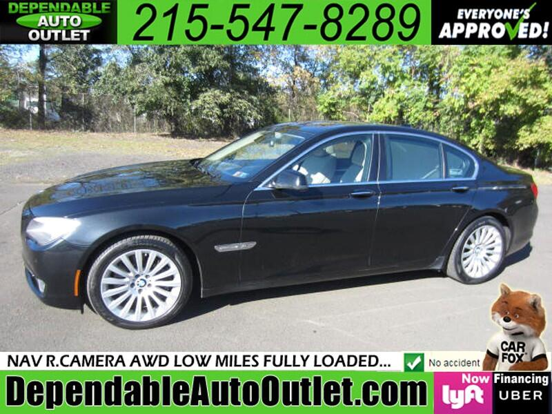 2011 BMW 7 Series 4dr Sdn 750i xDrive AWD