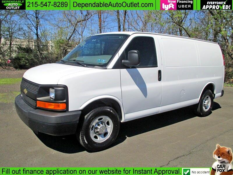 """2012 Chevrolet Express Cargo Van RWD 2500 135"""""""