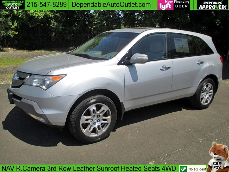 2008 Acura MDX AWD 4dr Technology Pkg