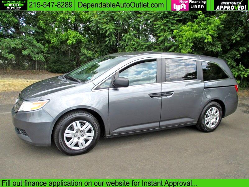 2012 Honda Odyssey 5dr LX
