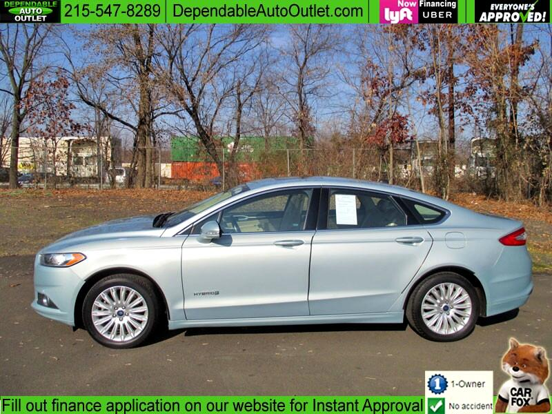 Ford Fusion 4dr Sdn SE Hybrid FWD 2014