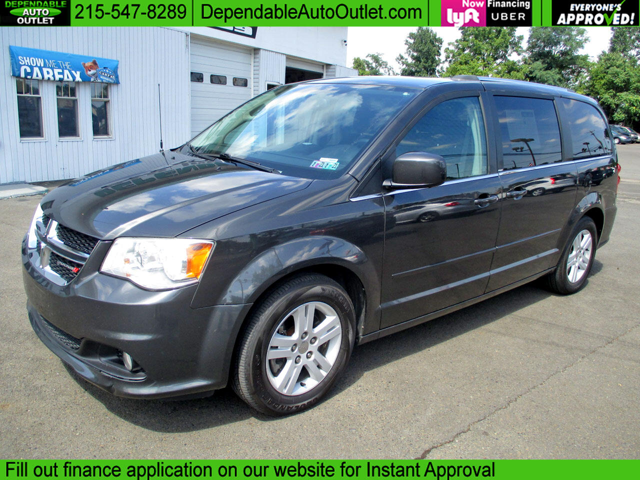 Dodge Grand Caravan 4dr Wgn Crew 2012