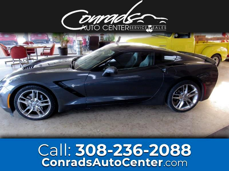 Chevrolet Corvette Stingray Z51 3LT Coupe Manual 2014