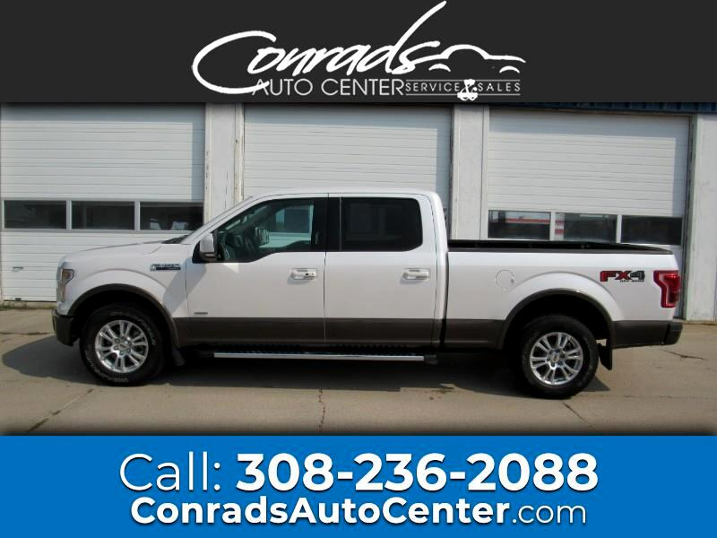Ford F-150 Lariat SuperCrew 6.5-ft. Bed 4WD 2016