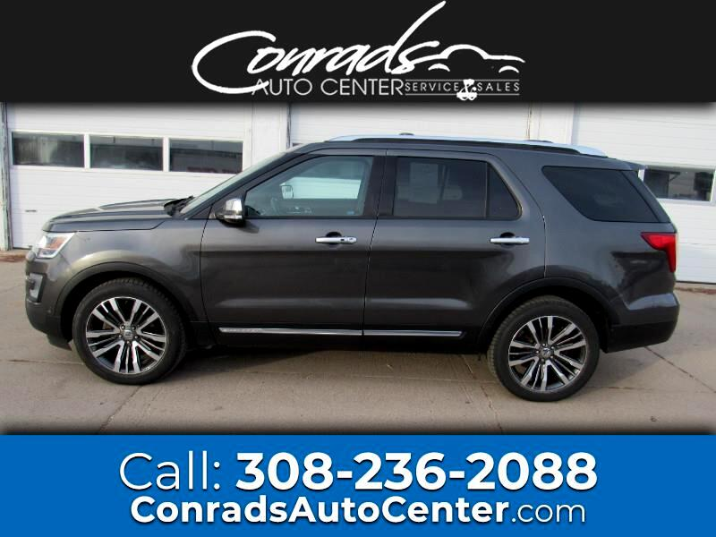 Ford Explorer Platinum AWD 2017