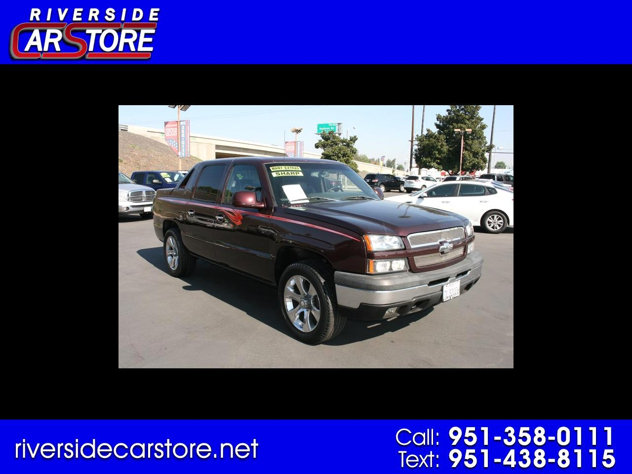 "Chevrolet Avalanche 1500 5dr Crew Cab 130"" WB Z66 2004"