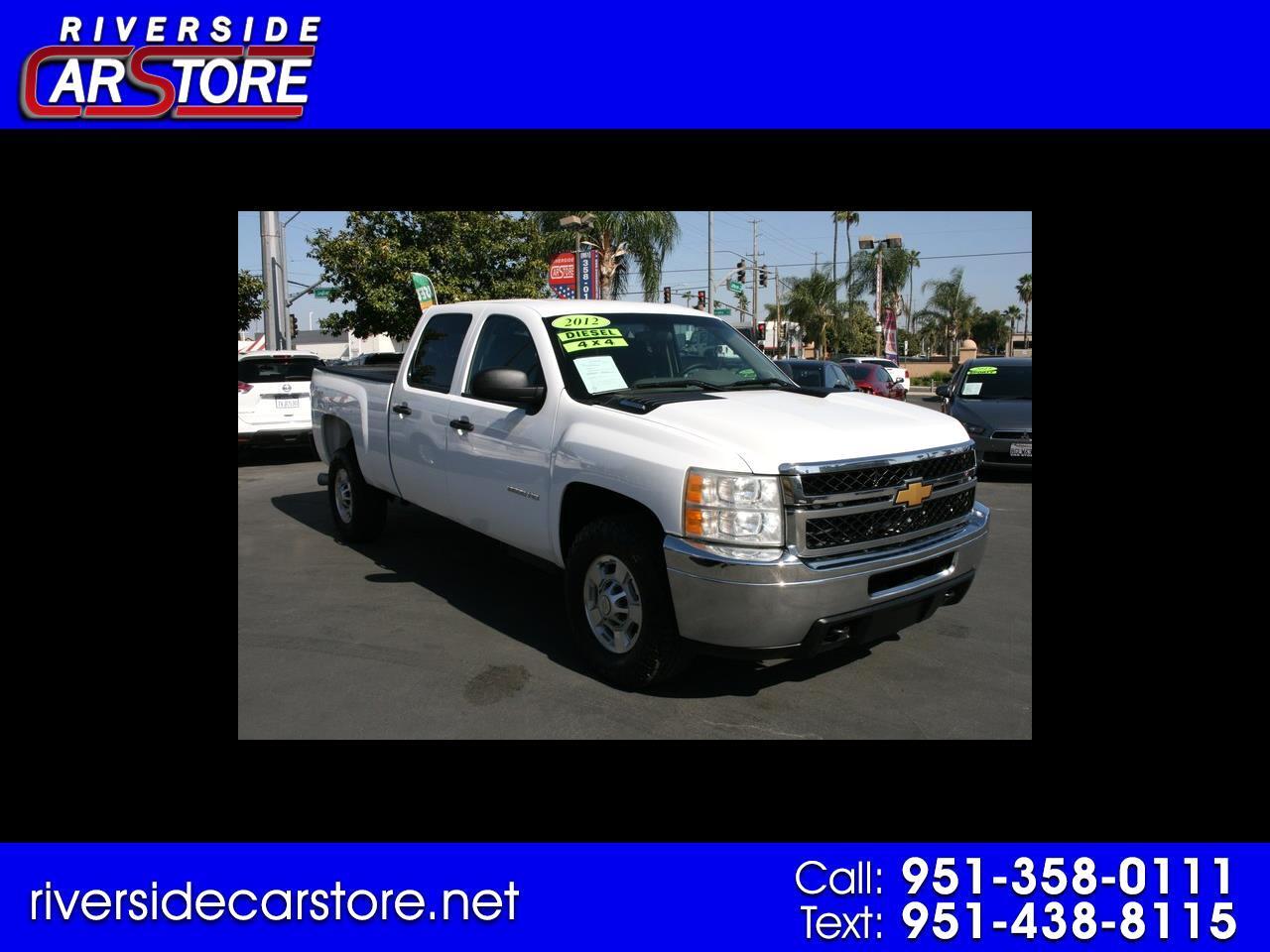 "Chevrolet Silverado 2500HD 4WD Crew Cab 153.7"" Work Truck 2012"