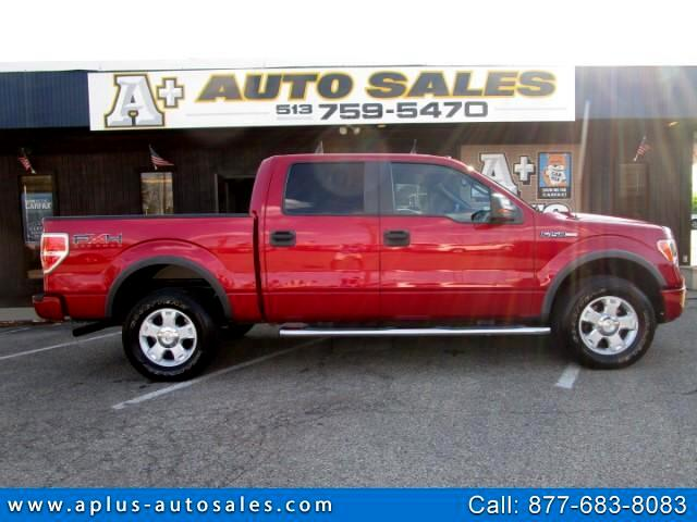 "2010 Ford F-150 4WD SuperCrew 157"" FX4"