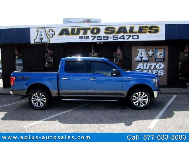 2016 Ford F-150 XLT SUPERCREW 4WD 3.5L V6