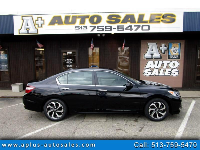 2016 Honda Accord EX-L Sedan w/Navigation