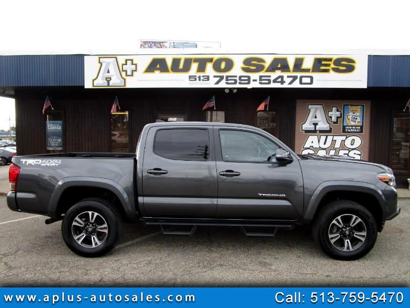 2017 Toyota Tacoma Double Cab TRD Sport V6 4WD