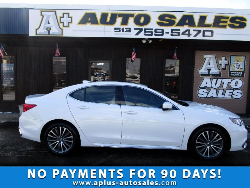 Acura TLX 9-Spd AT SH-AWD w/Advance Package 2018