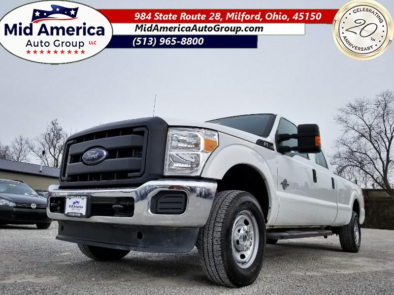 2016 Ford F-250 SD XLT FX4 Crew Cab Long Bed 4WD
