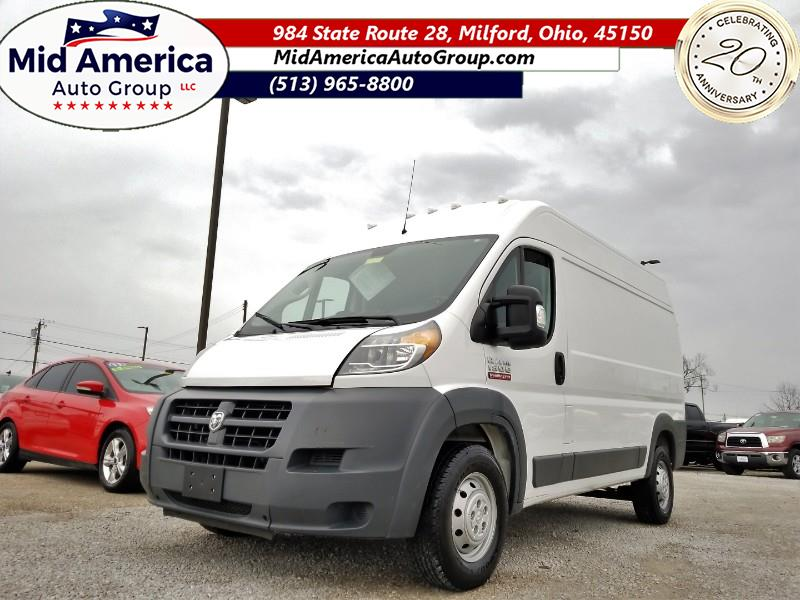 2018 RAM Promaster 1500 High Roof Tradesman 136-in. WB