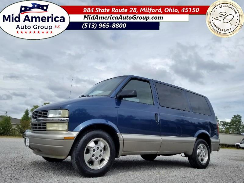 "Chevrolet Astro Passenger Ext 111"" WB RWD 2003"