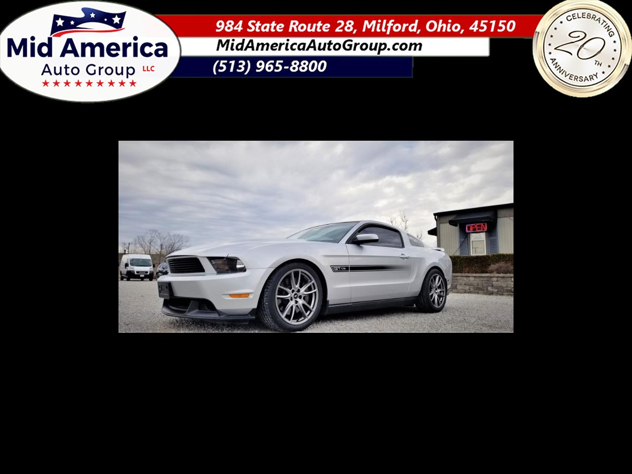 Ford Mustang 2dr Cpe GT Premium 2012