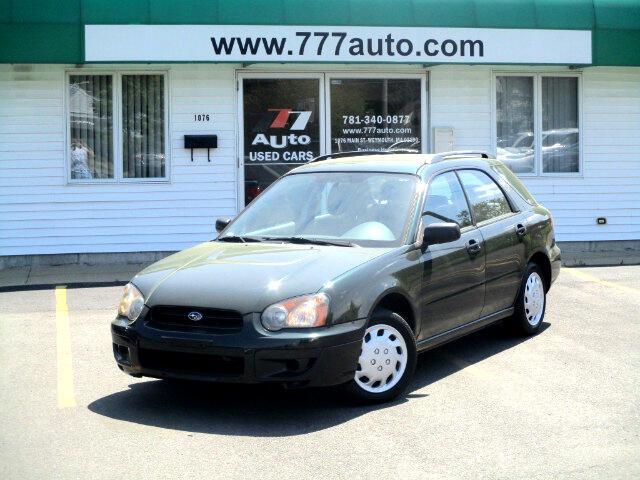 2004 Subaru Impreza Wagon 2.5 TS