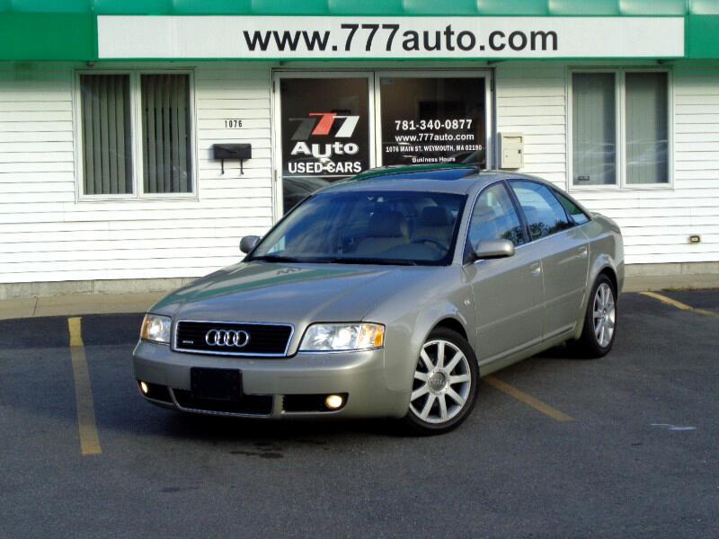 2004 Audi A6 2.7T S-Line
