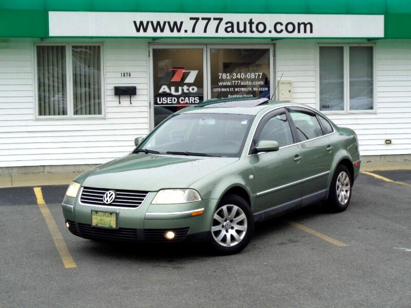 2003 Volkswagen Passat GLS V6