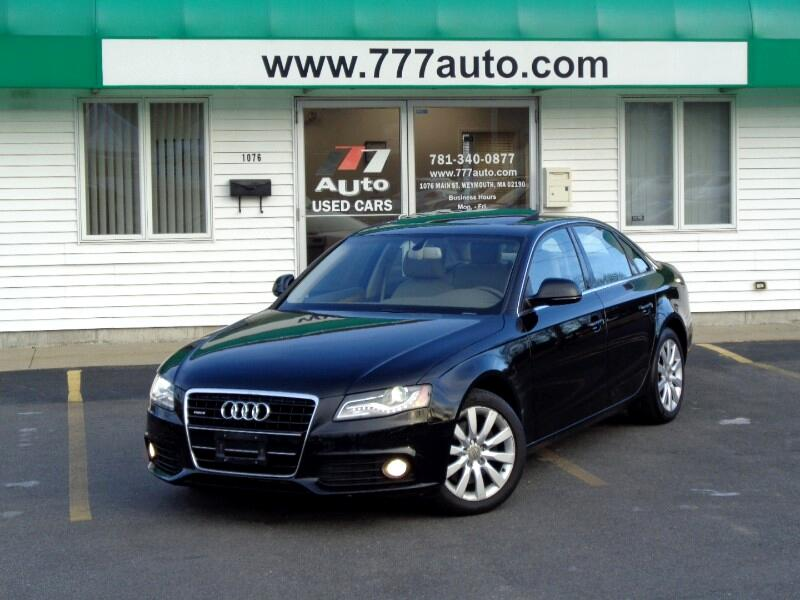 2009 Audi A4 3.2 Sedan quattro Tiptronic