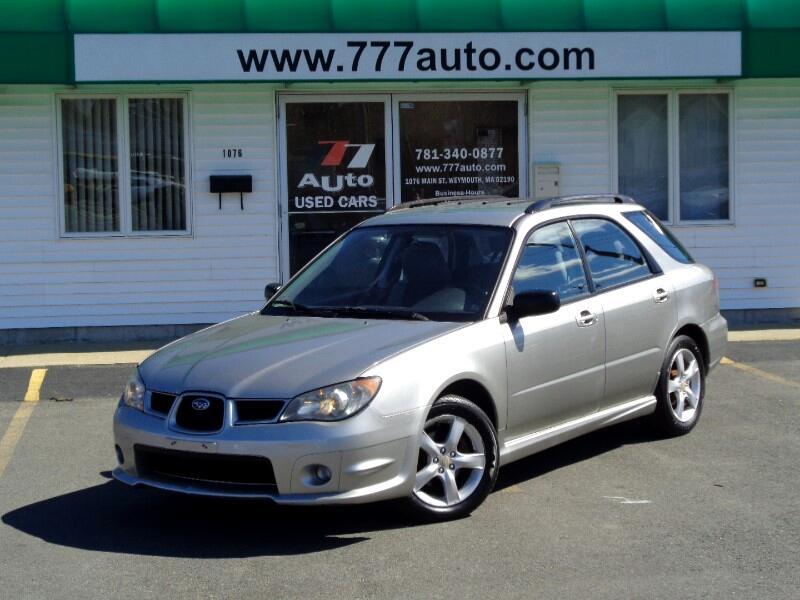 2006 Subaru Impreza Wagon 2.5i