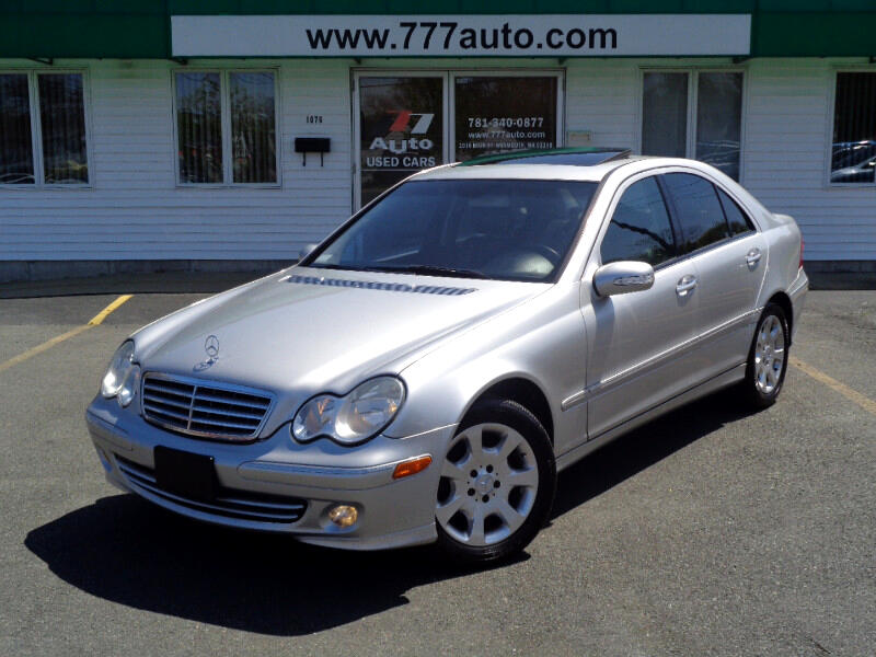 2005 Mercedes-Benz C-Class C240 4Matic Luxury Sedan