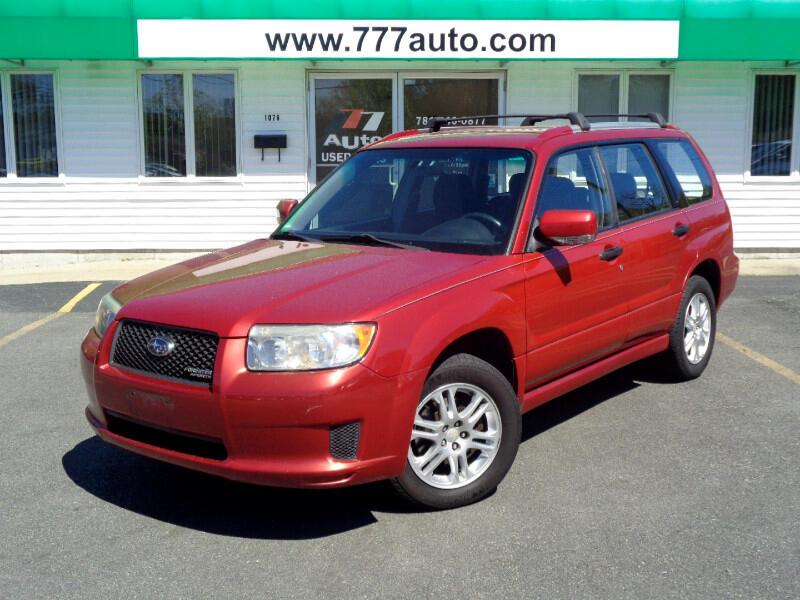 2008 Subaru Forester Sports 2.5X