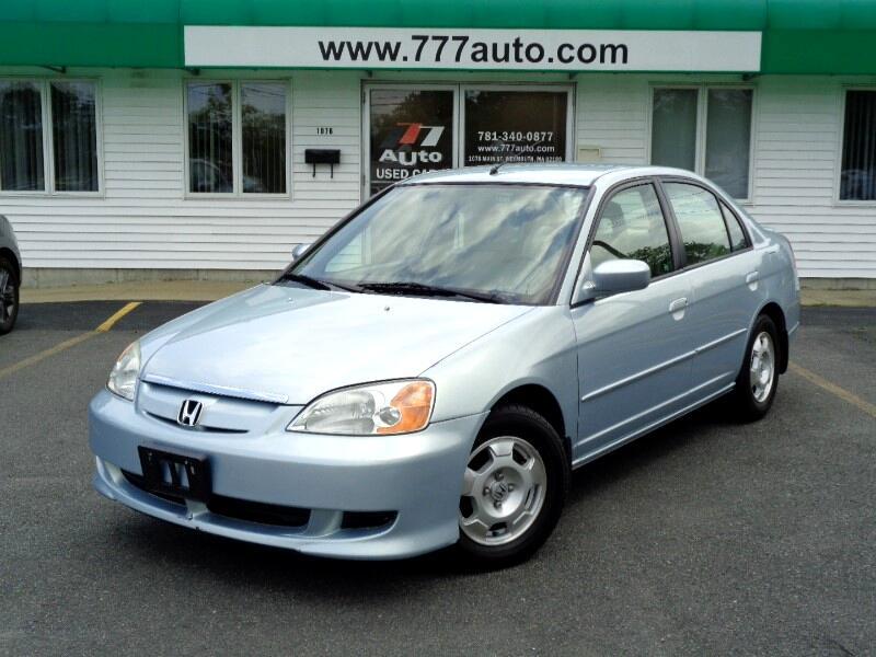 2003 Honda Civic Hybrid Sedan with CVT