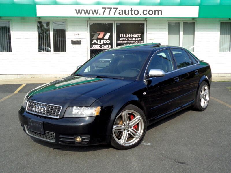 2004 Audi S4 Sport Sedan