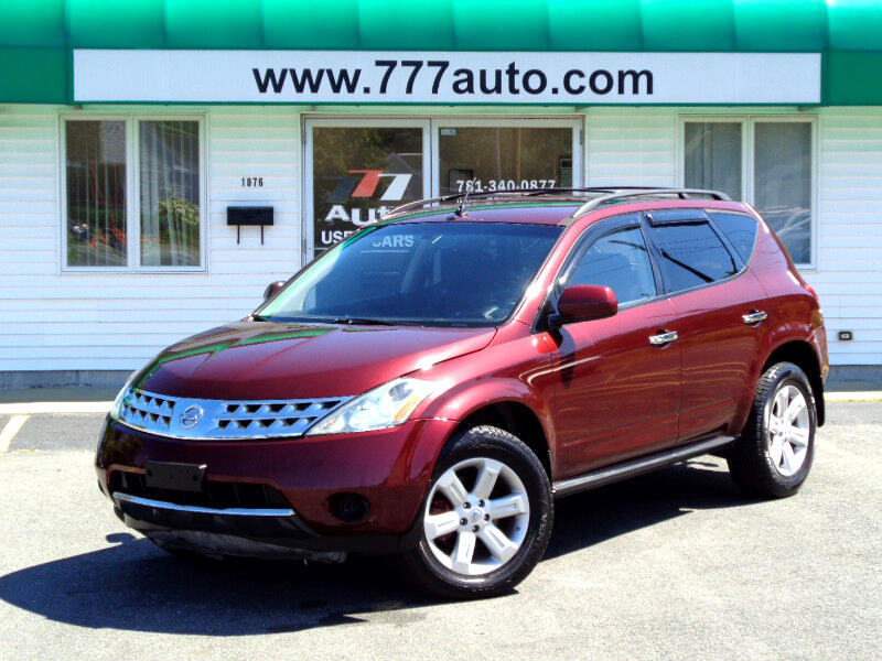 2007 Nissan Murano Sl >> Used 2007 Nissan Murano Sl Awd For Sale In Weymouth Boston