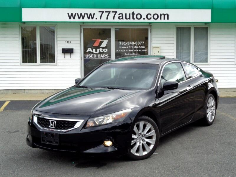 2009 Honda Accord EX-L V-6 Coupe with Navigation