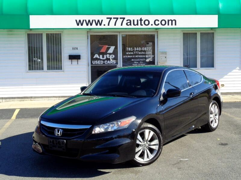 Honda Accord LX-S Coupe 2012