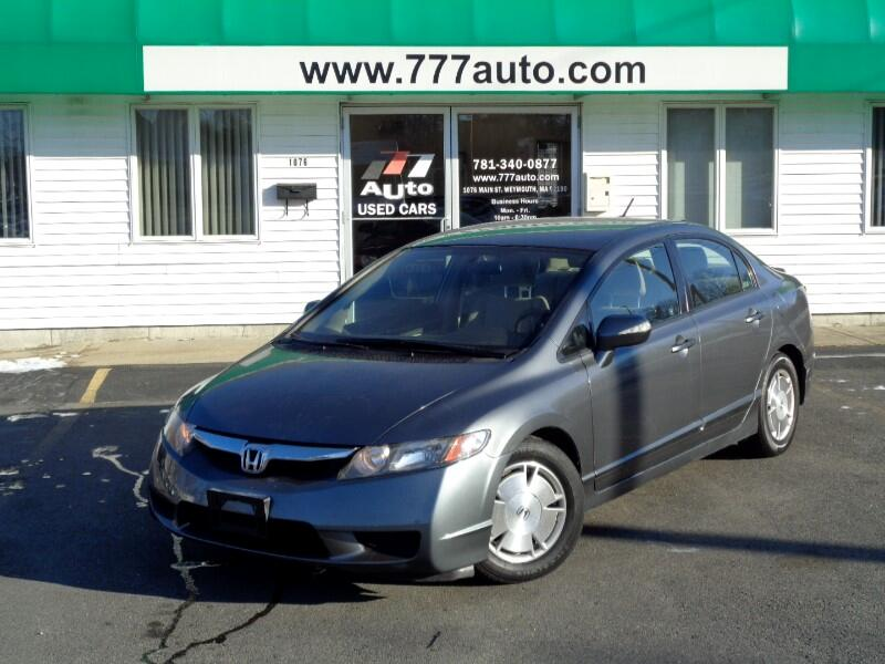 Honda Civic Hybrid CVT AT-PZEV 2011