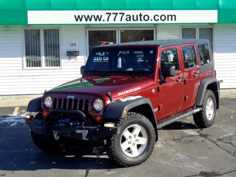 Jeep Wrangler Unlimited Rubicon 4WD 2007