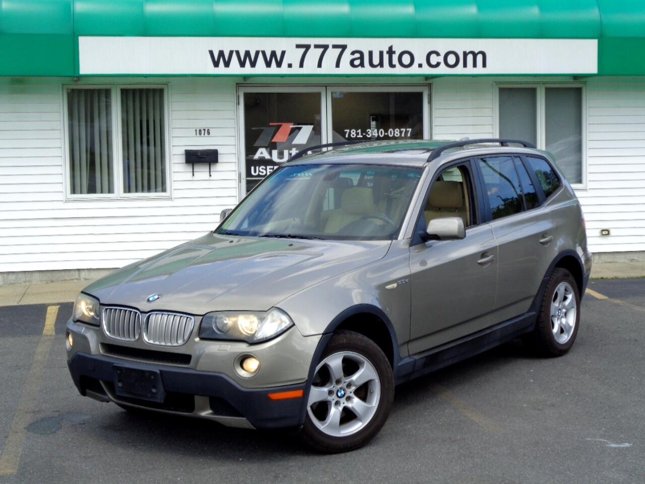 BMW X3 AWD 4dr 3.0si 2007