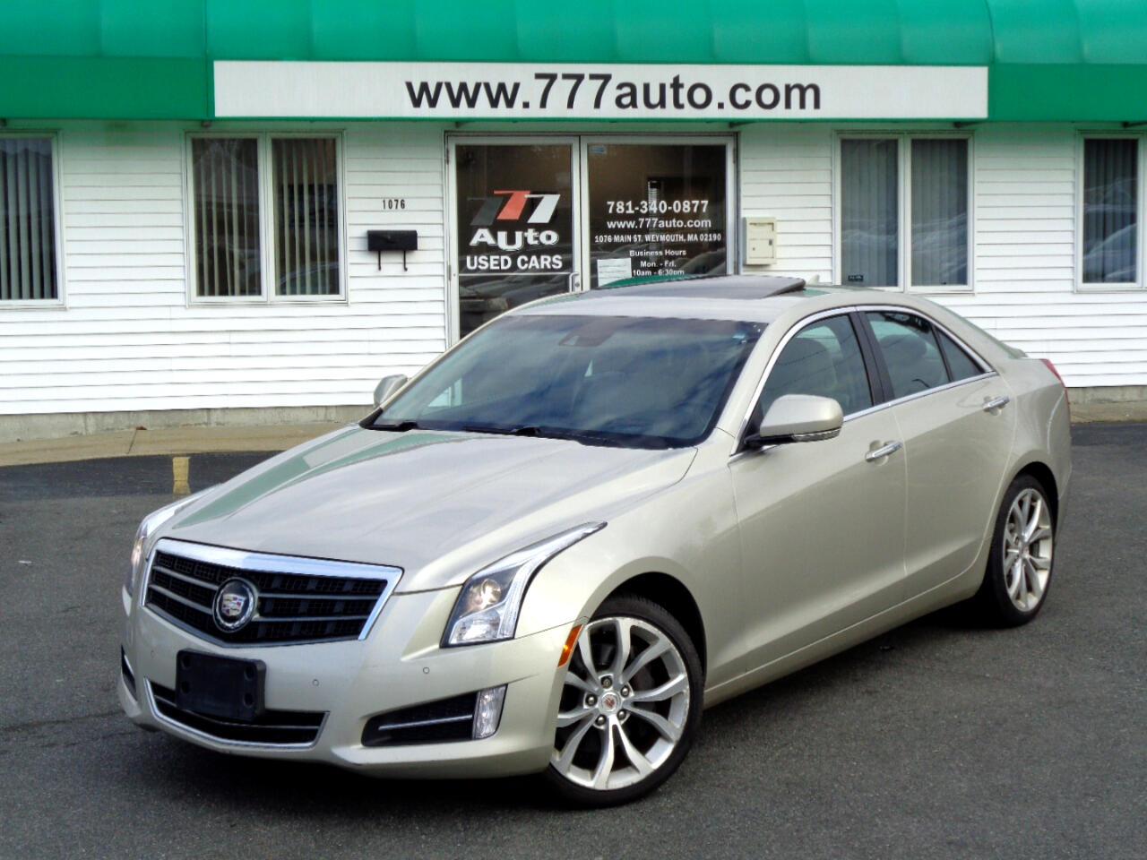 Cadillac ATS 4dr Sdn 3.6L Premium AWD 2013