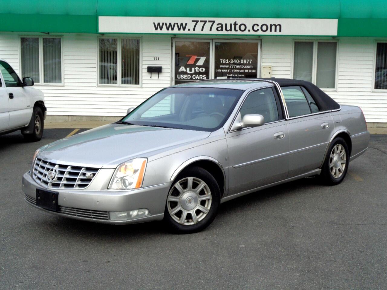 Cadillac DTS 4dr Sdn w/1SC 2008