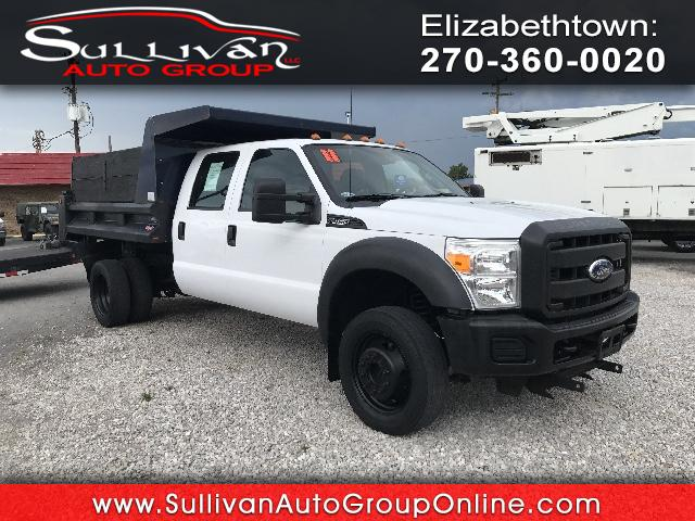 2011 Ford F-450 SD Crew Cab DRW 4WD