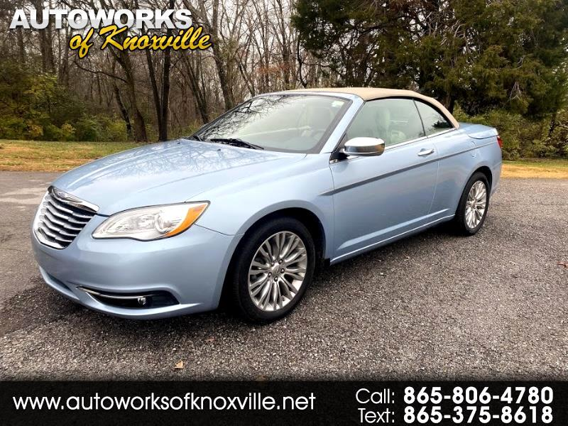 Chrysler 200 Limited Convertible 2013