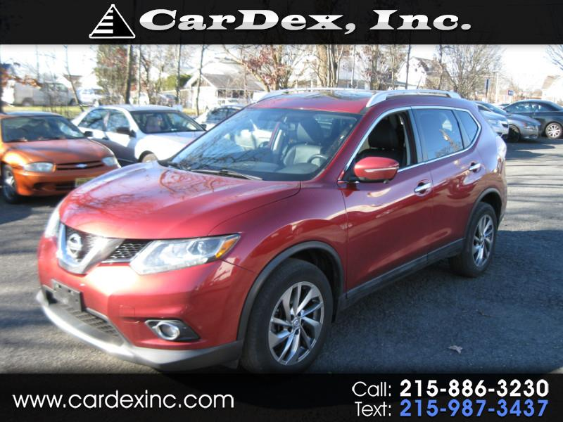 2015 Nissan Rogue AWD 4dr SL